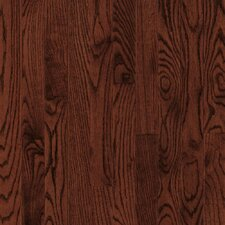 """Dundee 2-1/4"""" Solid Red / White Oak Hardwood Flooring in Cherry"""