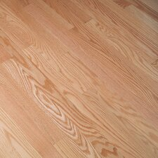 "Fulton 2-1/4"" Solid Red Oak Hardwood Flooring in Natural"