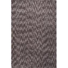 Castilla Gray / Brown Shag Area Rug