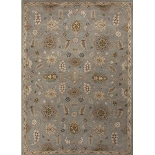 Poeme Blue/Tan Arts and Craft Rug