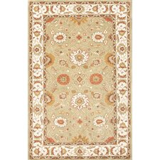 Poeme Green/Ivory Rug
