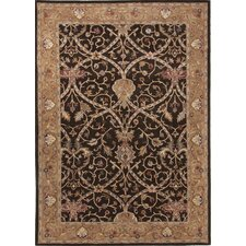 Poeme Brown/Tan Arts and Craft Rug
