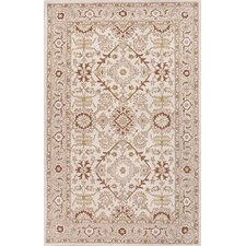 Poeme Ivory/Red Rug