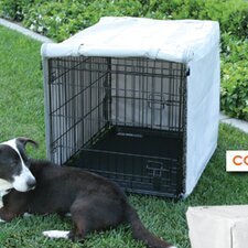 Dog Crate Cover for MidWest Life Stages 2-Door Crate