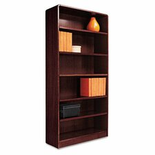 "Radius Corner 72"" Standard Bookcase"
