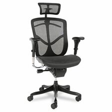 EQ Series Ergonomic Multifunction High-Back Mesh Conference Chair