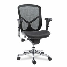 EQ Series Ergonomic Multifunction Mid-Back Mesh Conference Chair