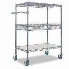 """40"""" 3-Tier Rolling Cart"""