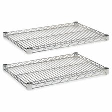 """18"""" x 24"""" Industrial Wire Shelves"""
