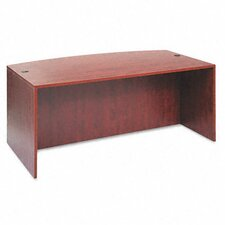 "Valencia Series 42"" Bow Front Executive Desk Shell"