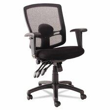 Etros Series Mid-Back Mesh Petite Multifunction Office Chair