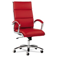 Neratoli High-Back Slim Profile Leather Executive Chair