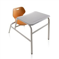 "Intellect Wave 32"" ABS Plastic Combo Desk"