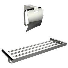 2 Piece Bathroom Hardware Set