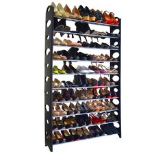 Studio 707 50 Pair 9 Tier Shoe Rack