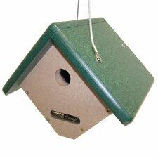 Recycled Wren Hanging Birdhouse