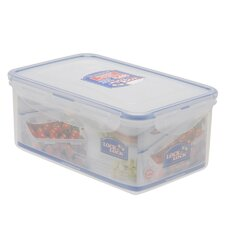 5.9-Cup Rectangle Short Food Container