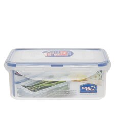 3.6-Cup Rectangle Short Food Container