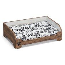 Vintage Style Pet Bed in Brown
