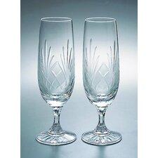 Medallion Champagne Flute Glass