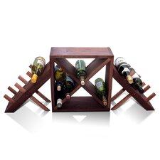 Vineyard 18 Bottle Tabletop Wine Rack
