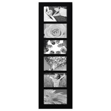 6 Opening Wood Wall Hanging Picture Frame