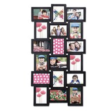 18 Opening Plastic Photo Collage Wall Hanging Picture Frame