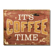 """""""It's Coffee Time"""" Wall Decor"""