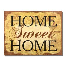 """Home Sweet Home"" Wall Decor"