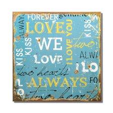 """Love"" Wall Decor"