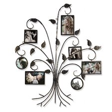Collage Wall Hanging 7 Opening Picture Frame