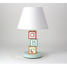 "My ABCs Nursery 16"" H Table Lamp with Empire Shade"