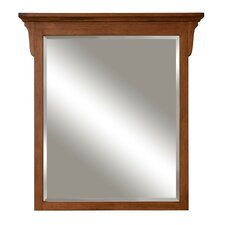 Mission Oak Framed Mirror