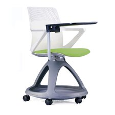 "18"" Plastic Tablet Arm Chair"