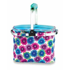 Shelby Collapsible Thermal Foil Insulated Market Tote Pinic Cooler