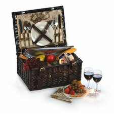 Copley 2 Person Picnic Basket with Insulated Cooler