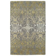 Divine Gray/Gold Area Rug