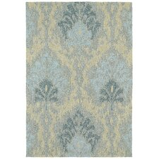 Habitat 21 Sea Spray Spa Floral Indoor / Outdoor Area Rug