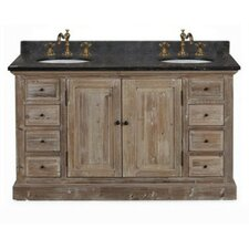 "WK Series 61"" Double Bathroom Vanity Set"