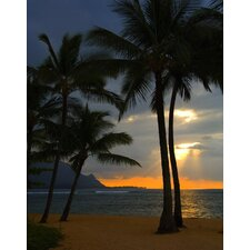 Limited Edition 'Kauai Sunset Hawaii Hand Numbered Edition' by Michael Verlangieri Photographic Print