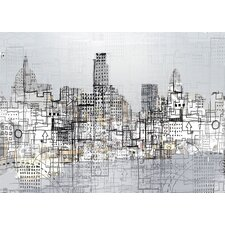 Limited Edition 'London' by Andy Mercer Painting Print