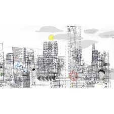 Limited Edition 'White City' by Andy Mercer Painting Print