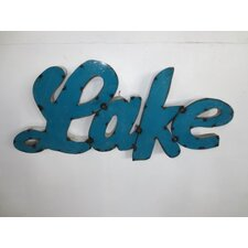 Lake Sign Wall Décor