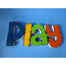 Play Sign Wall Décor