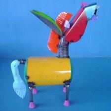 Spring Neck Donkey Statue