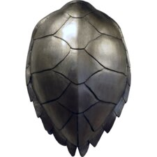 Modern Naturals Silver Leaf Turtle Shell Wall Décor