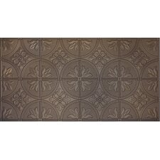 """Glue-Up Traditional 12"""" x 12"""" Tin Ceiling Tile in Bronze"""