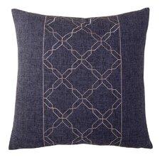 Cross Chain Throw Pillow