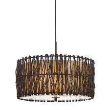 Winnett 2 Light Drum Pendant