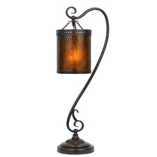 """Tiffany 29.5"""" Table Lamp with Drum Shade"""